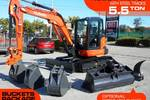 U57 KX-57 [5.5T] Excavator KX057 with Buckets set