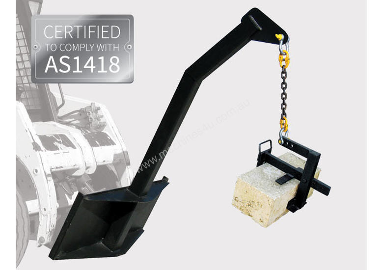 New Himac Skid Steer Attachments for sale - Skid Steer Lifting Boom ...