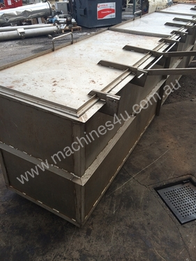 Rectangle Stainless Tank - UNKNOWN Stainless Steel Tanks