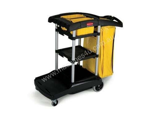 RUBBERMAID HIGH CAPACITY JANITORS TROLLEY