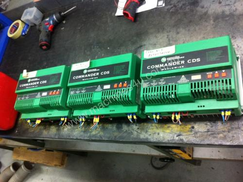 Commander CDS inverters 2.2KW & 1.5 KW used