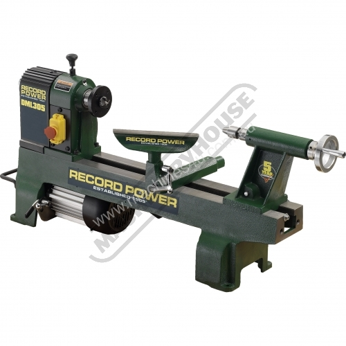 New RECORD POWER Wood Lathes for sale - DML305 Cast Iron 6 Speed Midi ...