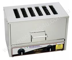 Vertical Toaster - Roband TC66 - 6 Slices - 15 Amp