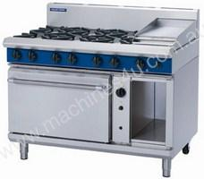 Blue Seal Eight Burner Gas Convection Oven Range