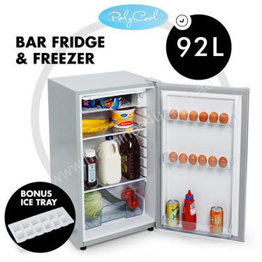 Portable Bar Fridge Freezer 12V/24V/240V Camping B