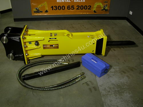 7 - 14T HYDRAULIC BREAKER - Impact Construction Equipment Rock Breaker