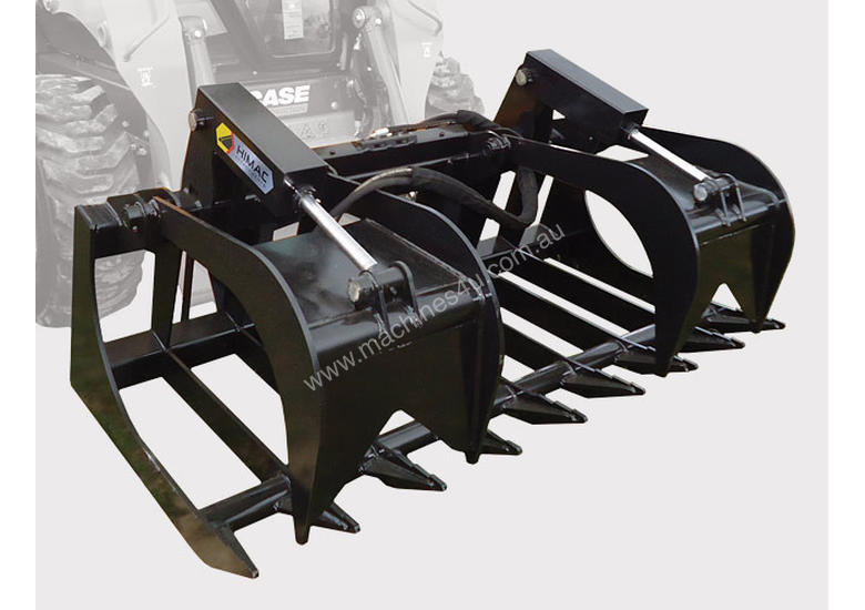 ... Himac Skid Steer Attachments for sale - Skid Steer Brush Grapple