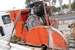 40hp concrete saw , 2cyl hatz diesel engine