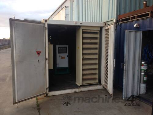 279kVA Standby Rated Genset Mounted in Container