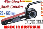 Linisher MULTI TOOL 610 x25mm Made in Australia