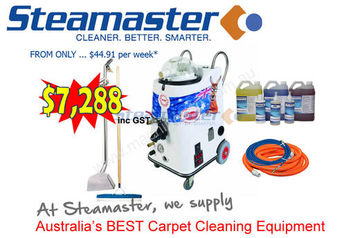 second carpet cleaning machine