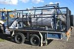 REDMOND GARY FIBRE OPTIC REEL ENDER CABLE TRAILER