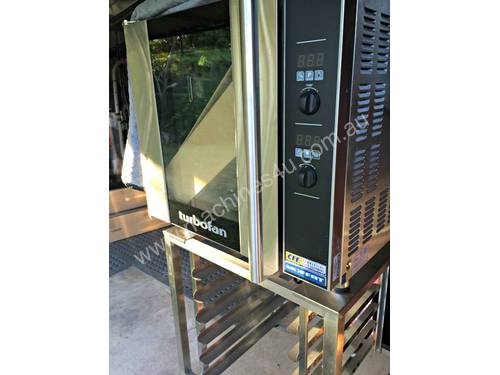 Turbofan E32D4 Electric Convection Oven with Stand