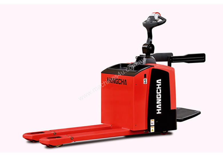 2 Ton Walk Behind Pallet Stacker Electric Forklift Price 1: New Hangcha T SERIES Powered Pallet Trucks In Dandenong, VIC