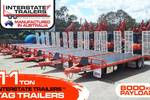 11 TON Tag Trailers - 100% Australian manufactured