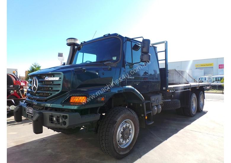 mercedes benz zetros 2733 a 6x6 for autos post