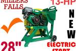 Log Saw 13-hp Electric & pull Start, Millers Falls