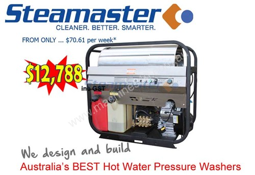 Steamaster Typhoon 1721HD Mobile Diesel Cleaner