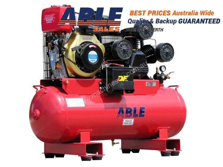 New Able Sales Australia DIESEL AIR COMPRESSOR 11HP 160lt ...