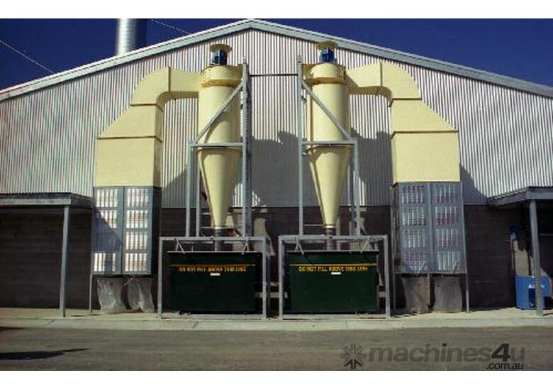 New Gregory Machinery Cyclone Dust Extraction Systems