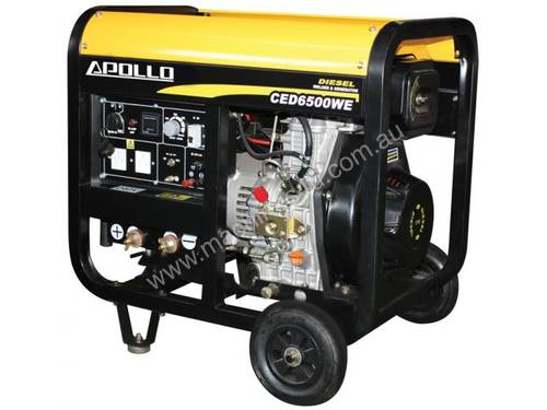 APOLLO WELDER/ GENERATOR CED6500WE RRP $1895 inc