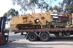 116hp side shift trencher, 12ton , street pads ,