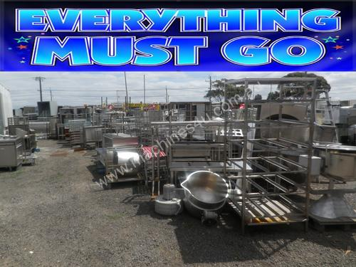 CATERING EQUIPMENT- YARD CLEARANCE SALE-SPARE PART