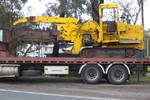 T455 side shift trencher