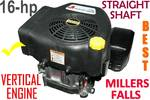 Engine Millers Falls 16-hp Vertical Straight Shaft