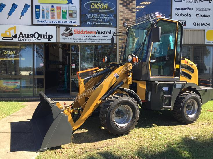 COUGAR WL100 WHEEL LOADER