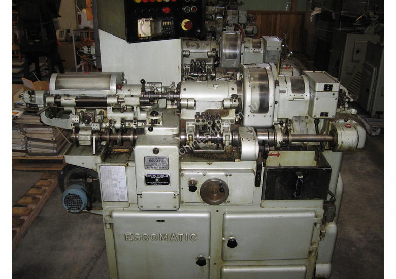 D6 - Escomatic Swiss type machine