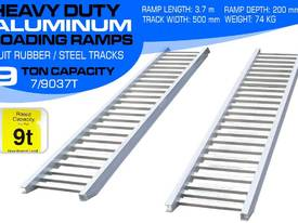 Ramps - 9.0 Ton Aluminum Loading Ramps 500mm WIDE