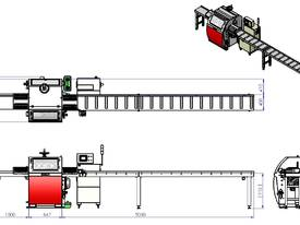 SOC-100 SEMI OPTIMISING DOCKING SAW - picture4' - Click to enlarge