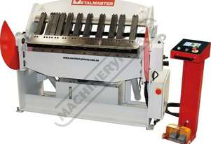 PB-440T Hydraulic NC Panbrake - Ezy Touch Screen Control 1300 x 4mm Mild Steel Bending Capacity