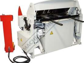 PB-440T Hydraulic NC Panbrake - Ezy Touch Screen Control 1300 x 4mm Mild Steel Bending Capacity - picture8' - Click to enlarge