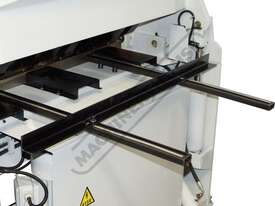 PB-440T Hydraulic NC Panbrake - Ezy Touch Screen Control 1300 x 4mm Mild Steel Bending Capacity - picture9' - Click to enlarge