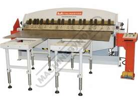 PB-440T Hydraulic NC Panbrake - Ezy Touch Screen Control 1300 x 4mm Mild Steel Bending Capacity - picture14' - Click to enlarge