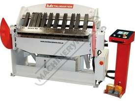 PB-440T Hydraulic NC Panbrake - Ezy Touch Screen Control 1300 x 4mm Mild Steel Bending Capacity - picture0' - Click to enlarge