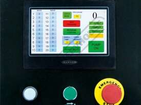 PB-440T Hydraulic NC Panbrake - Ezy Touch Screen Control 1300 x 4mm Mild Steel Bending Capacity - picture2' - Click to enlarge