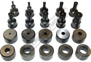 PDS-26 Ø6-26mm Round Punch & Dies Set Hi -Grade Tool Steel Imported From Japan 20 Piece = 10 Sets