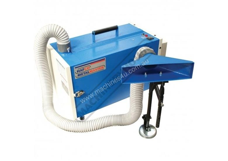 WE-100 Welding Fume Extractor  Captures up to 99.97% of 0.3 Micron Noxious Fumes