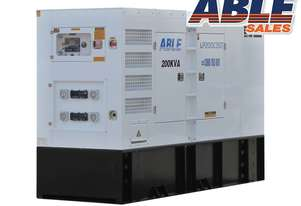 220 kVA Diesel Generator 415V - Cummins Powered Stamford Alternator