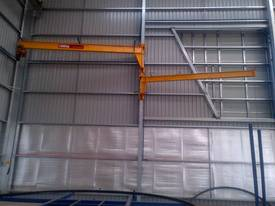 WALL MOUNTED JIB CRANE - picture2' - Click to enlarge