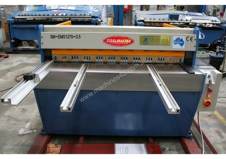 STEELMASTER SHEETMETAL FABRICATION MACHINERY