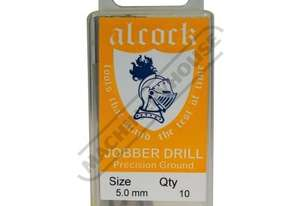D8158 HSS Jobber Drill Pack - 10 Piece Ø5.0mm Precision Ground Flute & Split Point
