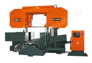 New SH8580D Heavy-duty Semi Bandsaw