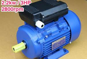 2.2kw/3HP 2800rpm 24mm shaft motor single-phase