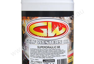 HYDRAULIC OIL 20LTR SUPERDRAULIC 68 GW