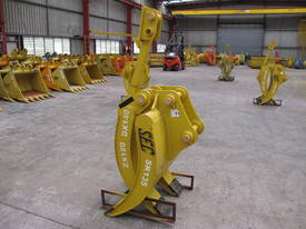 2017 SEC 12ton Mechanical Grapple ZX120 / ZX135 - picture0' - Click to enlarge