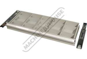 SCD-100 Drawer with ball bearing slides 100mm Deep Drawer, 75kg Capacity Suits T762 & T774